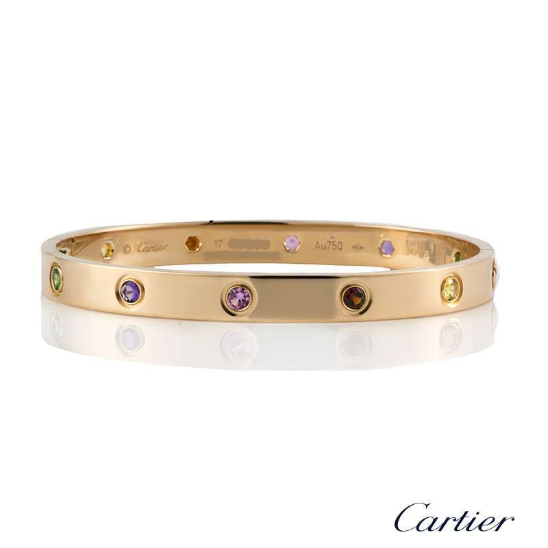 6c4af1e6560c4 Cartier Love Bracelet